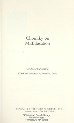 Download Chomsky on miseducation