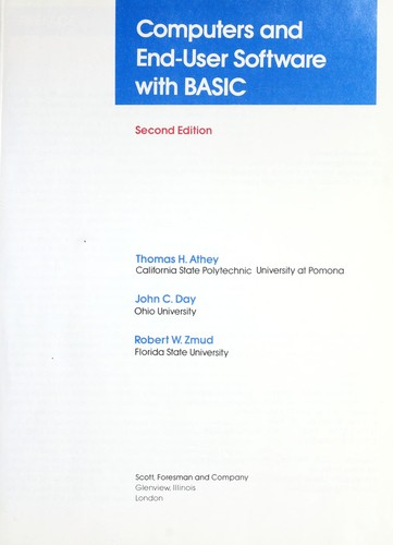 Computers and end-user software with BASIC
