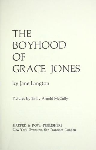 The boyhood of Grace Jones.