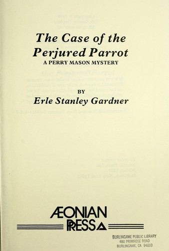 Download The case of the perjured parrot