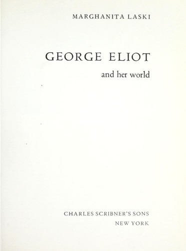 Download George Eliot and her world
