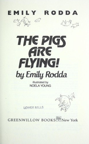 The pigs are flying!