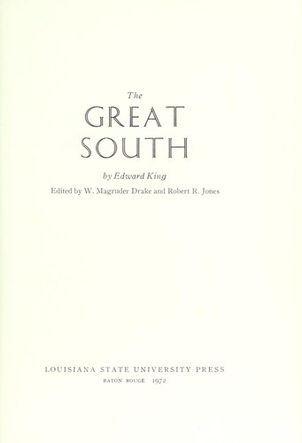 The great South.