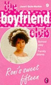 Roni's Sweet Fifteen (Boyfriend Club) PDF