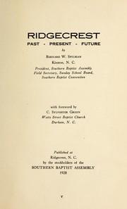 Ridgecrest, past--present--future PDF