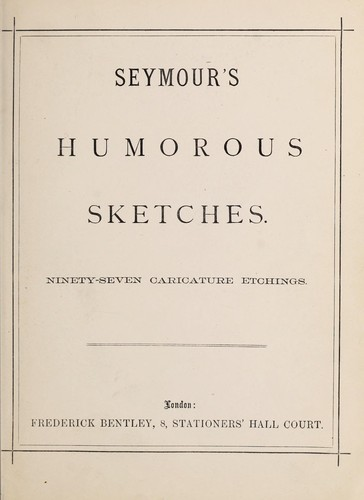 Download Seymour's humorous sketches.