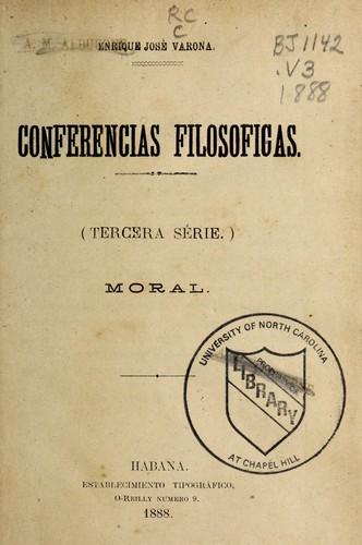 Conferencias filosóficas