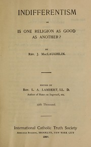 Is one religion as good as another? PDF