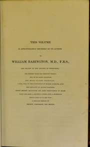 An account of some of the most important diseases peculiar to women