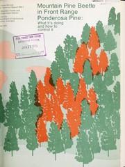 Mountain pine beetle in front range ponderosa pine PDF