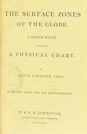 The surface zones of the globe : a handbook to accompany a physical chart PDF