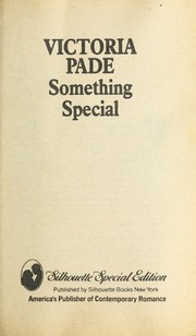 Cover of: Something Special | Victoria Pade