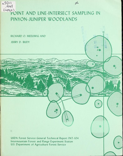 Download Point and line-intersect sampling in pinyon-juniper woodlands
