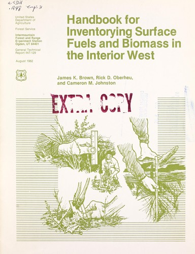 Handbook for inventorying surface fuels and biomass in the Interior West