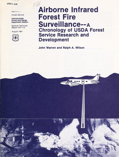 Airborne infrared forest fire surveillance