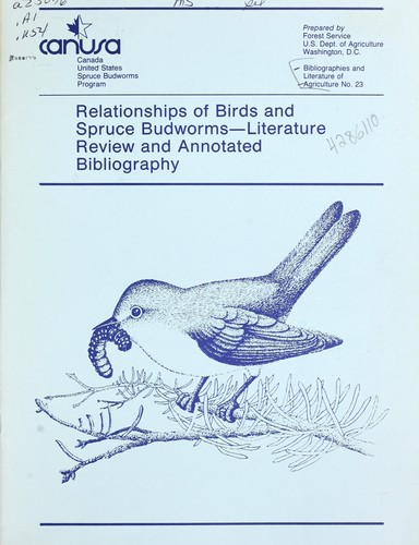 Download Relationships of birds and spruce budworms