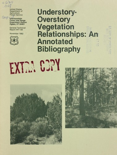 Download Understory-overstory vegetation relationships