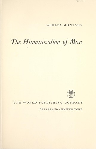 Download The humanization of man.