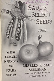 Saul's select seeds 1908 PDF