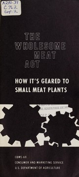 The Wholesome Meat Act PDF