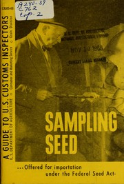Sampling seed offered for importation under the Federal Seed Act PDF