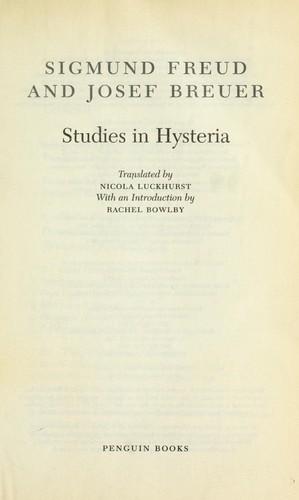 Download Studies in hysteria
