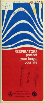 Respirators protect your lungs, your life PDF