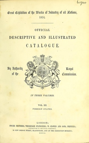 Download Official descriptive and illustrated catalogue