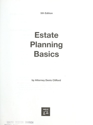 Download Estate planning basics
