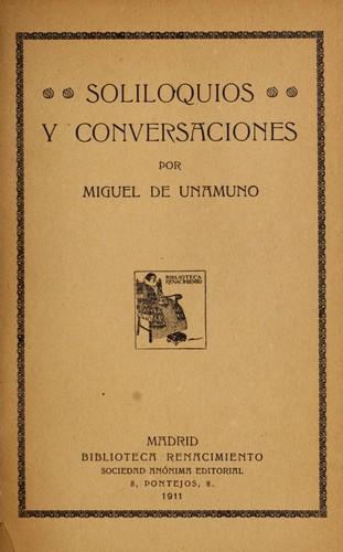 Soliloquios y conversaciones