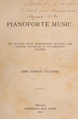 Pianoforte music