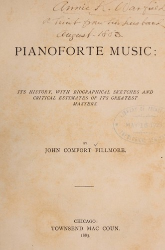 Download Pianoforte music