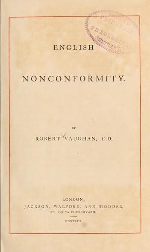 English nonconformity