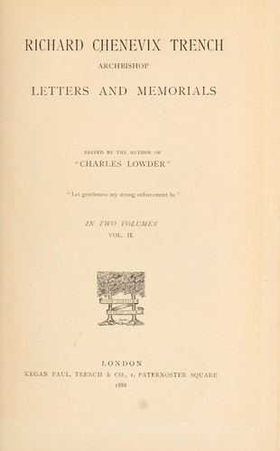 Download Letters and memorials