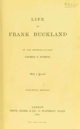 Life of Frank Buckland