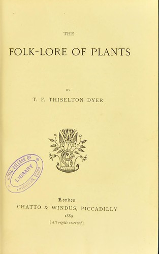 Download The folk-lore of plants