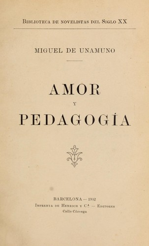 Download Amor y pedagogía