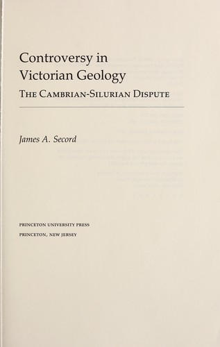 Controversy in Victorian geology