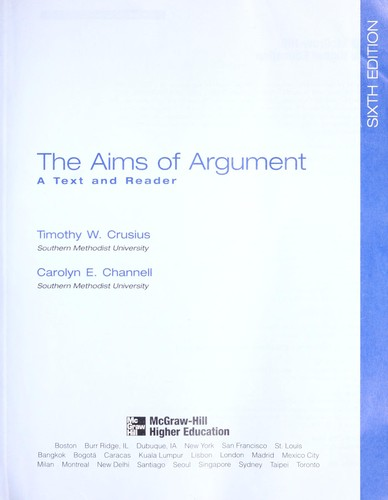 Download The aims of argument