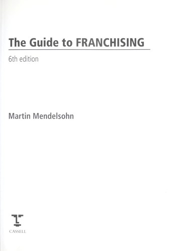 The guide to franchising.
