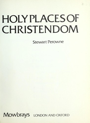 Holy places of Christendom