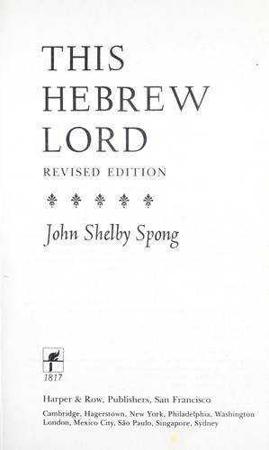 This Hebrew Lord
