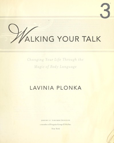 Walking your talk