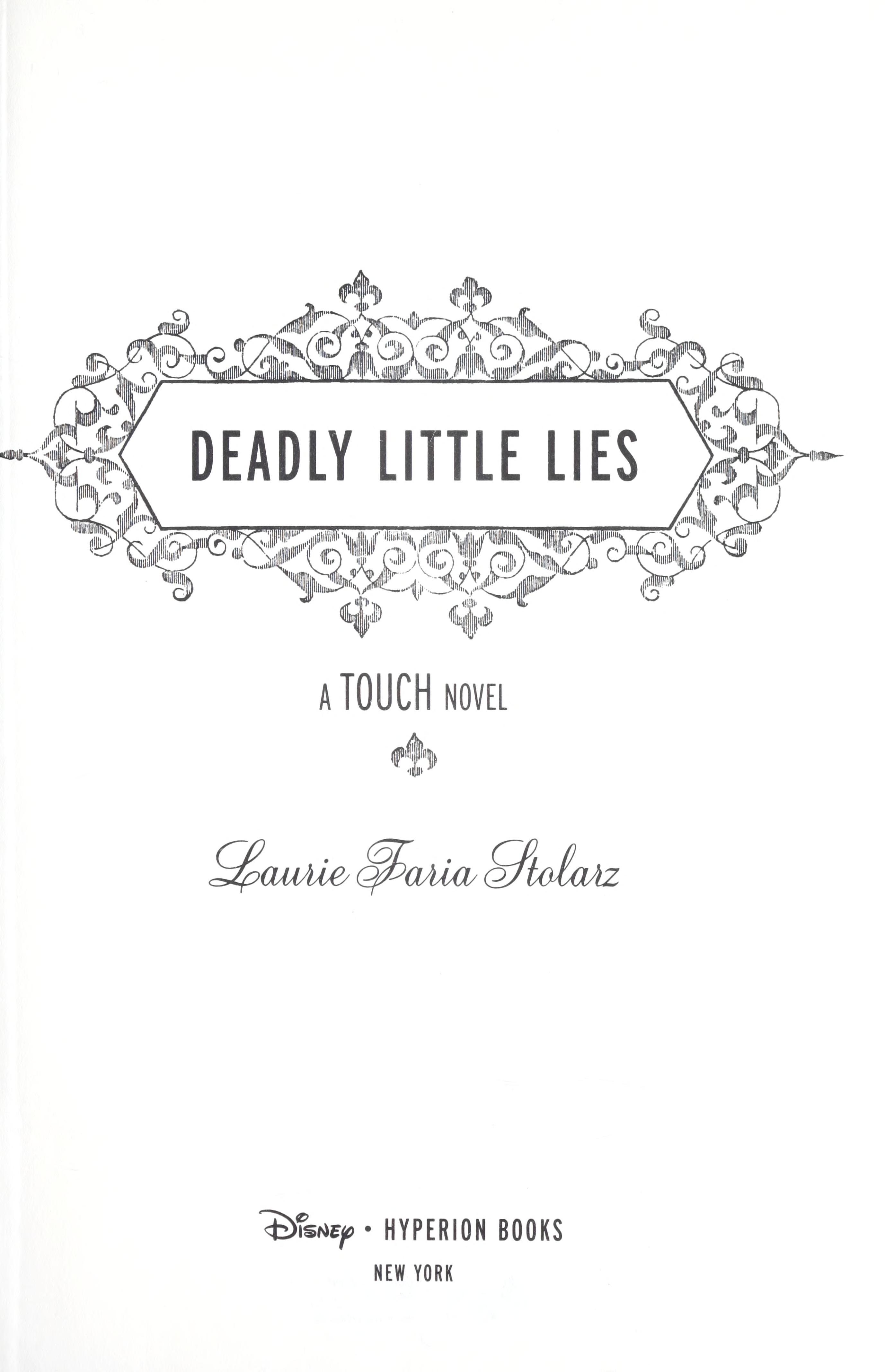 Epub download deadly little lies
