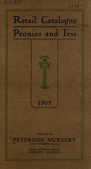 Retail catalogue of peonies and iris PDF