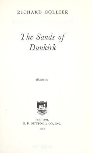 The sands of Dunkirk.