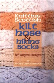 Kilt hose pattern - 1:12th and 1:24th scale miniature knitting