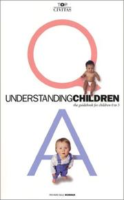 Cover of: Understanding Children by Richard Saul Wurman