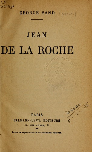 Jean de la Roche.