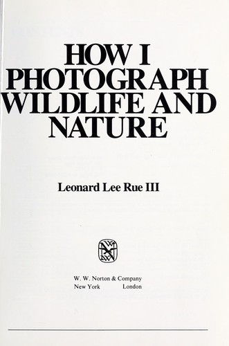 Download How I photograph wildlife and nature